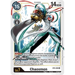 BT4-090 R Chaosmon Digimon  (Pre-Release)