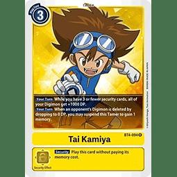 BT4-094 R Tai Kamiya Tamer  (Pre-Release)