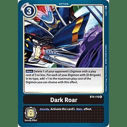 BT4-110 R Dark Roar Option  (Pre-Release)