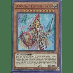 Arcana Triumph Joker - KICO-EN001 - Collector's Rare 1st Edition