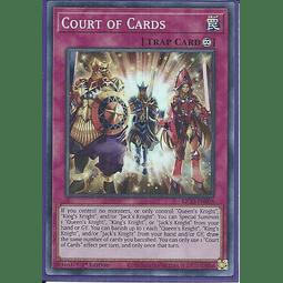 Court of Cards - KICO-EN008 - Super Rare 1st Edition