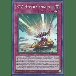 XYZ Hyper Cannon - KICO-EN010 - Super Rare 1st Edition