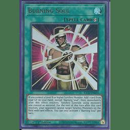 Burning Soul - KICO-EN020 - Ultra Rare 1st Edition