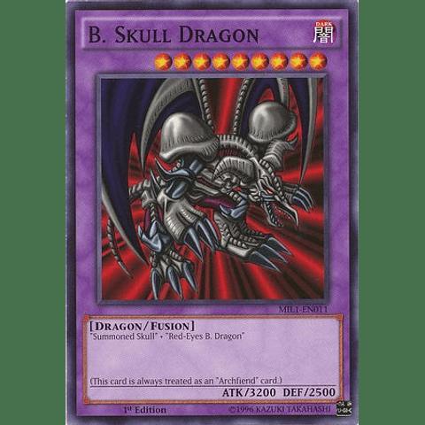 B. Skull Dragon - MIL1-EN011 - Common 1st Edition