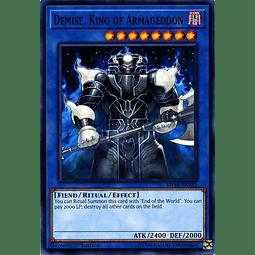 Demise, King of Armageddon - MP18-EN232 - Common 1st Edition
