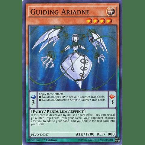 Guiding Ariadne - PEVO-EN027 - Super Rare 1st Edition