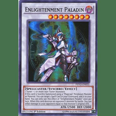 Enlightenment Paladin - PEVO-EN031 - Super Rare 1st Edition