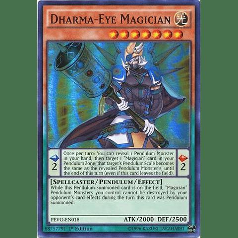 Dharma-Eye Magician - PEVO-EN018 - Super Rare 1st Edition