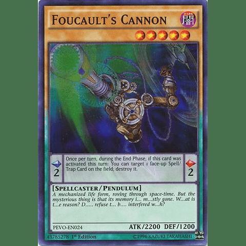 Foucault's Cannon - PEVO-EN024 - Super Rare 1st Edition