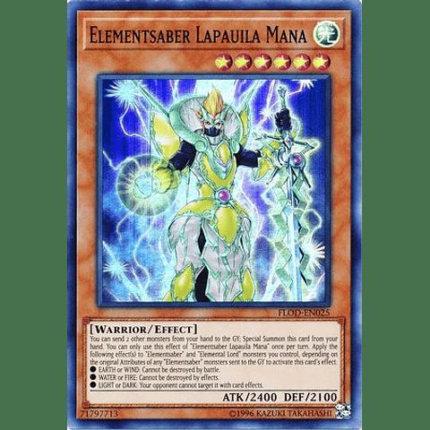 Elementsaber Lapauila Mana - FLOD-EN025 - Super Rare Unlimited