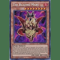 The Blazing Mars - DRL3-EN007 - Secret Rare 1st Edition