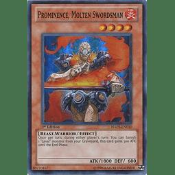 Prominence, Molten Swordsman - HA05-EN010 - Super Rare 1st Edition