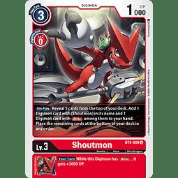 BT5-009 U Shoutmon (Digimon)