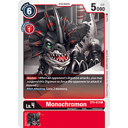 BT5-012 C Monochromon (Digimon)