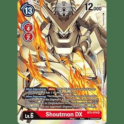 BT5-019 SR Shoutmon DX (Digimon)