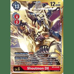 BT5-019 SR Shoutmon DX (Alternate Art) (Digimon)