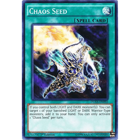 Chaos Seed -duea-en092- Common 1st Edition