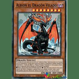 Albion the Shrouded Dragon - DAMA-EN008 - Super Rare 1st Edition