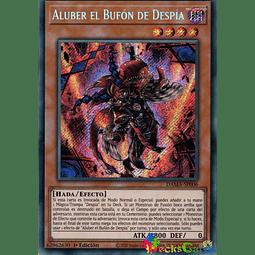 Aluber the Jester of Despia - DAMA-EN006 - Secret Rare 1st Edition