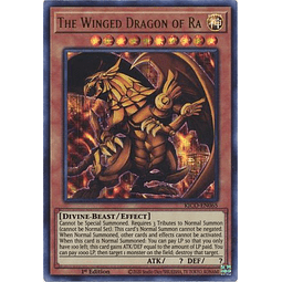 The Winged Dragon of Ra - KICO-EN065 - Pharaoh Secret Rare 1st Edition