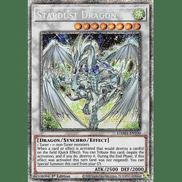 Stardust Dragon - DAMA-EN100 - Starlight Rare 1st Edition