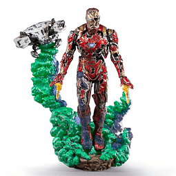 IRONMAN ILLUSION DEL ART SCALE 1 10 SPIDER-MAN FFH EXCL