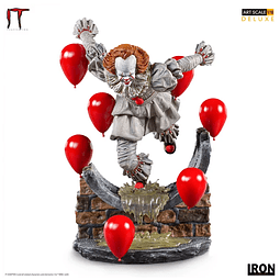 PENNYWISE DELUXE ART SCALE 1-10 IT CHAPTER TWO