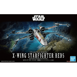 1/72 X-WING STARFIGHTER RED5(STAR WARS:THE RISE OF SKYWALKER)