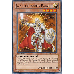 Jain, Lightsworn Paladin - SDLI-EN007 - Common 1st Edition