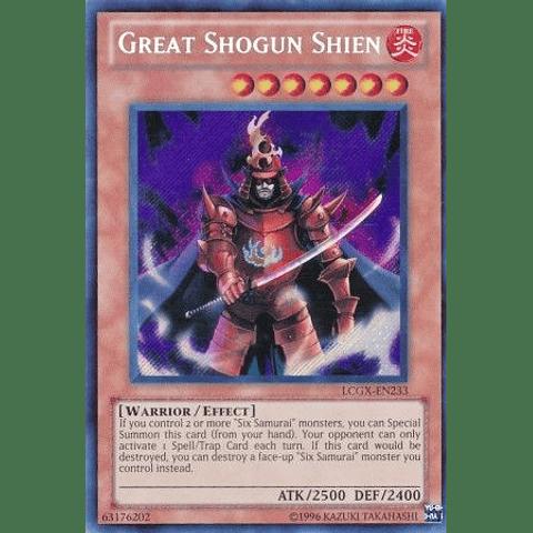 Great Shogun Shien - LCGX-EN233 - Secret Rare Unlimited
