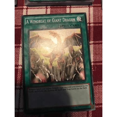 A Wingbeat Of Giant Dragon - sr02-en027 - Common 1st Edition