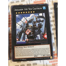 Aegaion The Sea Castrum - mp16-en213 - Common 1st Edition