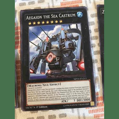 Aegaion The Sea Castrum -mp16-en213- Common 1st Edition