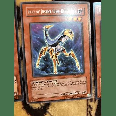 Ally Of Justice Core Destroyer -tshd-en037- Rare 1st Edition