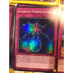 Altergeist Manifestation - exfo-en070 - Super Rare 1st Edition