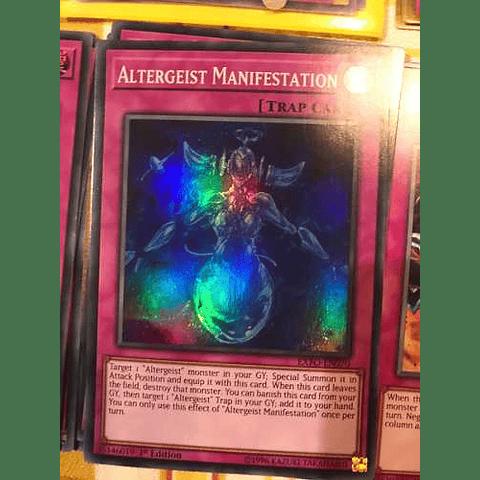 Altergeist Manifestation -exfo-en070- Super Rare 1st Edition