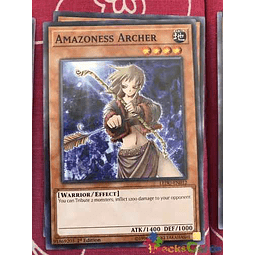 Amazoness Archer - ledu-en012 - Common 1st Edition