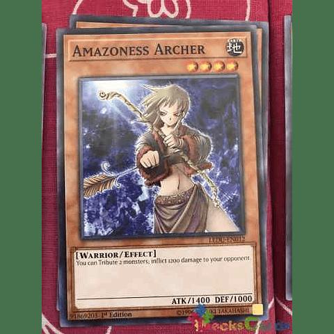 Amazoness Archer -ledu-en012- Common 1st Edition
