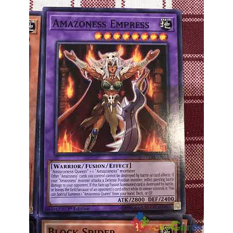 Amazoness Empress - cibr-en095 - Common 1st Edition