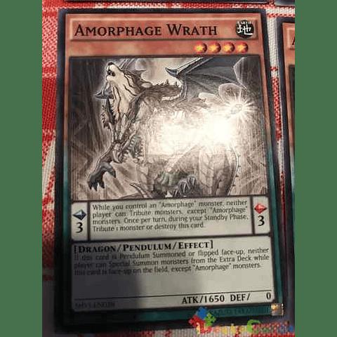 Amorphage Wrath -shvi-en028- Common 1st Edition