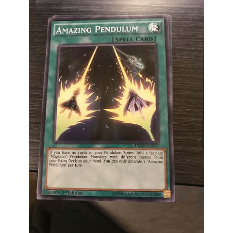 Amazing Pendulum -inov-en053- Common 1st Edition