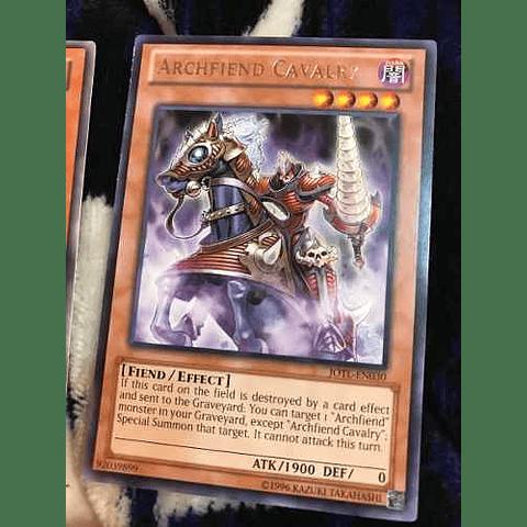 Archfiend Cavalry -jotl-en030- Rare Unlimited