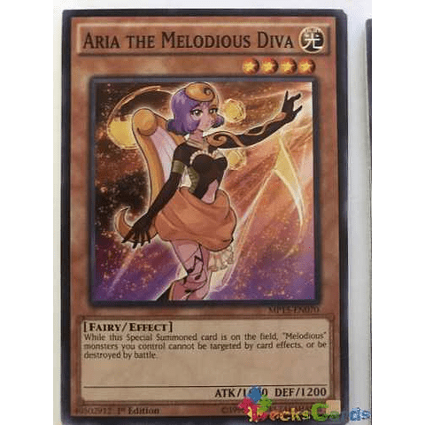 Aria The Melodious Diva -mp15-en070- Common 1st Edition