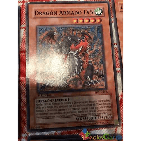 Armed Dragon Lv5 - sd1-en006 - Common 1st Edition