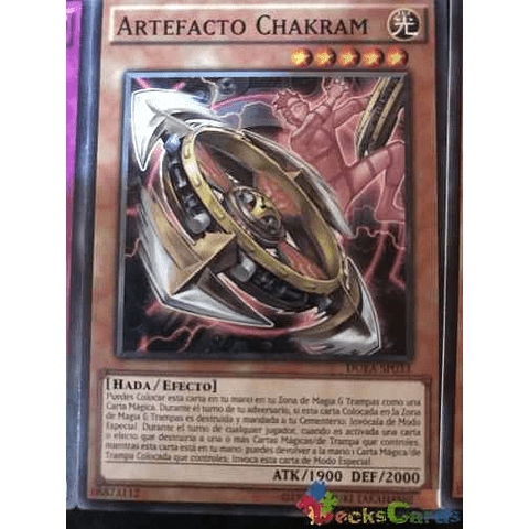 Artifact Chakram -duea-en033- Common Unlimited