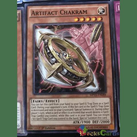 Artifact Chakram -mp15-en088- Common 1st Edition