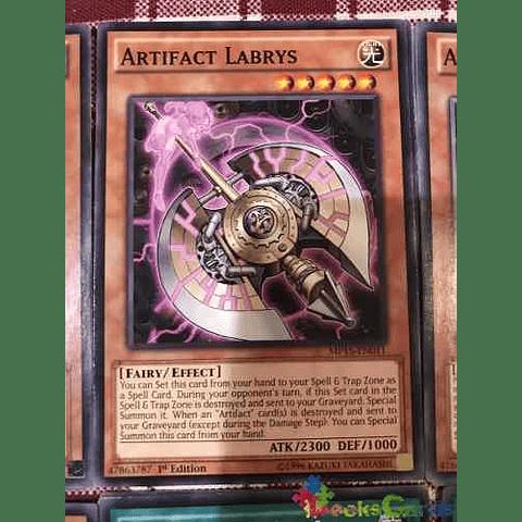 Artifact Labrys -mp15-en011- Common 1st Edition