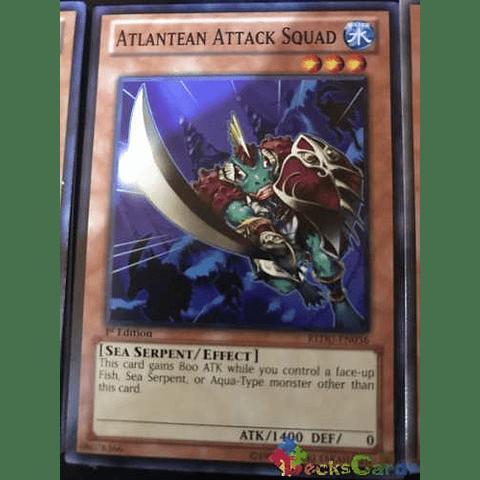 Atlantean Attack Squad -redu-en036- Common 1st Edition
