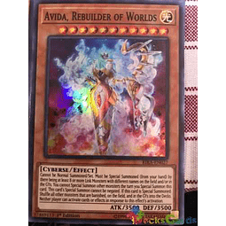 Avida, Rebuilder Of Worlds - rira-en027 - Super Rare 1st Edition