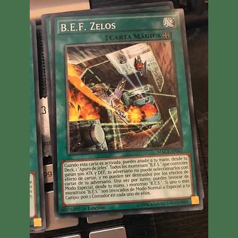 B.e.f. Zelos -macr-en062- Common 1st Edition